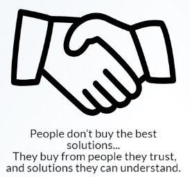People Buy from the People they Trust